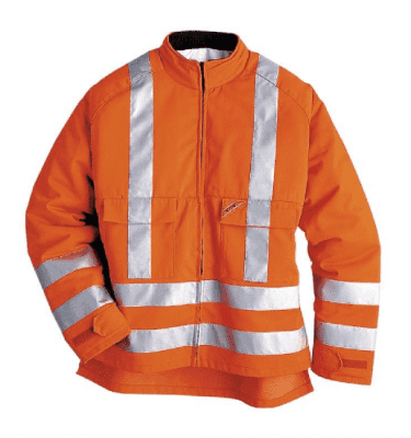 STIHL PPE High visibility jacket with cut protection