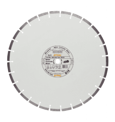 STIHL Diamond cutting wheel, Concrete (B) for Cut-off saw
