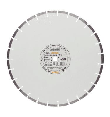 STIHL Diamond cutting wheel, Concrete (B) for Cut-off saw