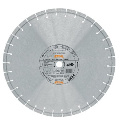 STIHL Diamond cutting wheel, hard stone concrete (SB)