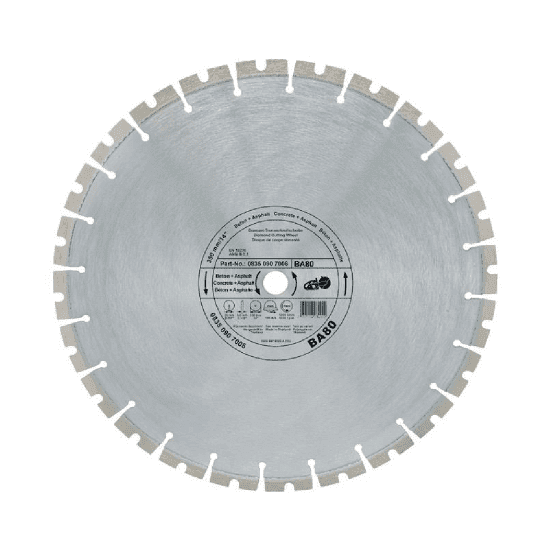 STIHL Diamond cutting wheels - Concrete Asphalt (BA) for Cut-off saw