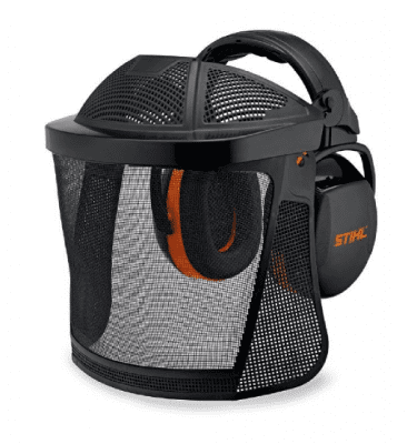 STIHL Face ear protection with nylon mesh visor
