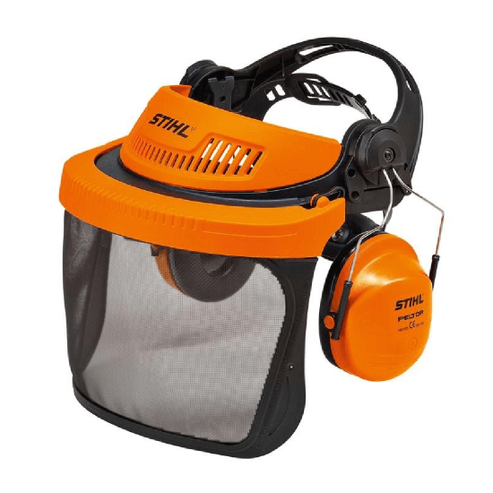 STIHL G500 face protection