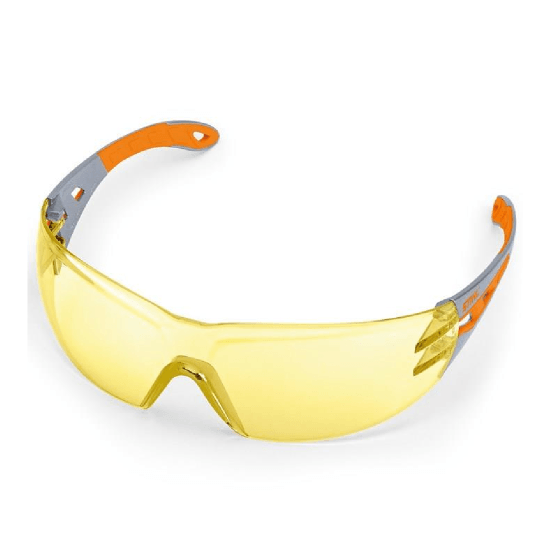 STIHL LIGHT PLUS Glasses - Yellow