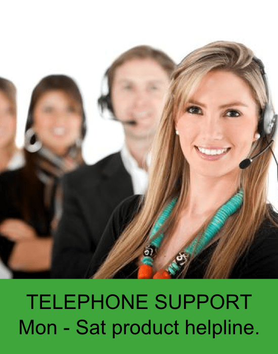 Telephone support from Cardiff Lawn and Garden