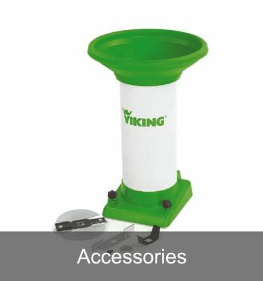 Accessories for garden shredders