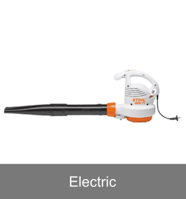 Electric hand held blowers