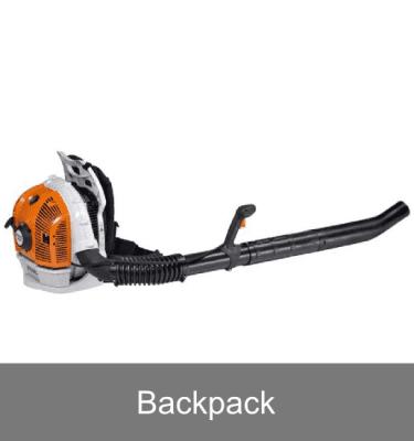 Petrol backpack blowers