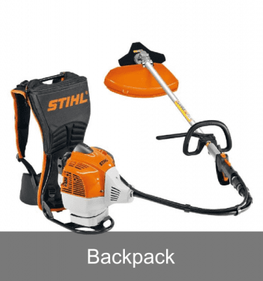 Petrol backpack brushcutters