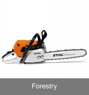Petrol chainsaws for forestry