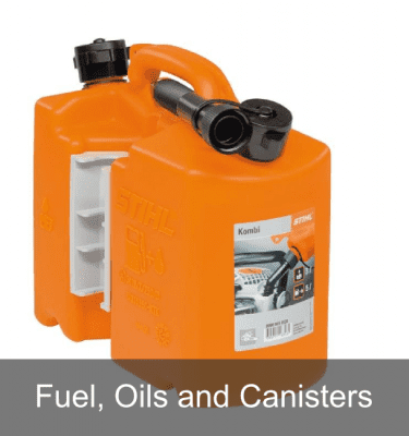 Fuel, Oils and Canisters