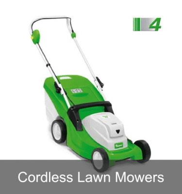 Cordless Li-Ion lawn mowers