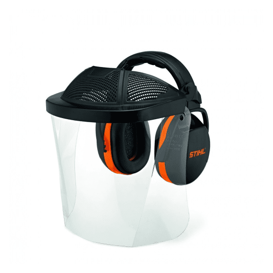Face Shield and Hearing Protector