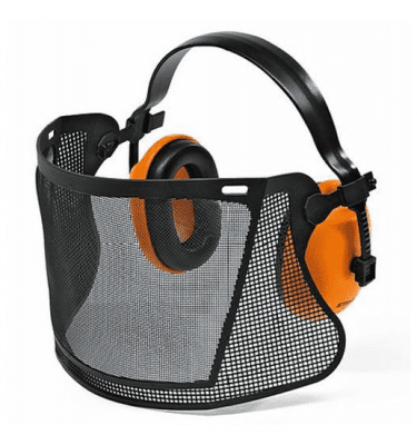 STIHL MESH VISOR WITH EAR DEFENDERS (00008840517)