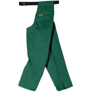 Seatless trousers for chain saw use