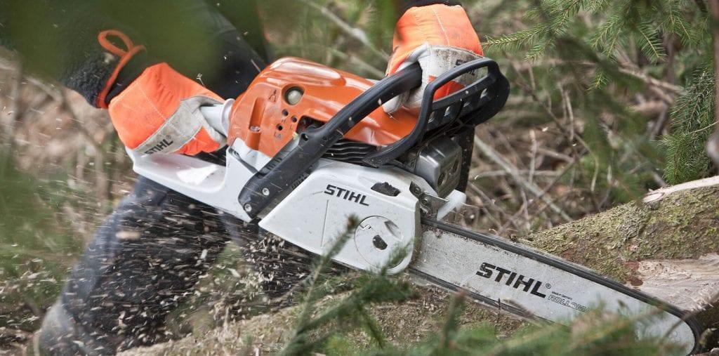 Stihl chainsaw cardiff